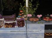 momento dulce: donuts display
