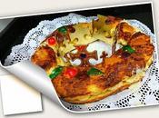 Tortel reyes crema pastelera