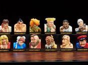 Versiones retratos luchadores Street Fighter para decorar habitación