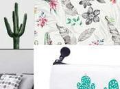 Cactus decoración.Tendencias