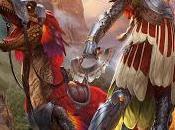 "cartas dinosaurianas expansión ""Ixalan"" ""Magic, Gathering"" (II)"