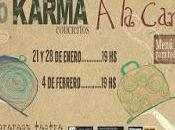 Karma: conciertos carta sorteos