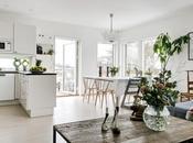 Diseño interiores abierto bien planificado