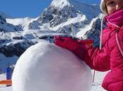 nieve niños: nuestro finde Canfranc Candanchú