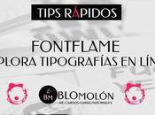 Explora Combina Fuentes Línea FontsFlame