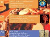 Molinos Arte, Festival Iberoamericano Teatro (CHILE)