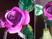 Tutorial para hacer hermosas rosas latas aluminio