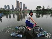 bici agua adaptación