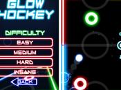 Glow Hockey, ¿cómo andas reflejos?