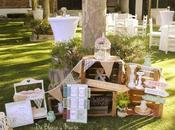 Decoración personalizada para bodas Blanco Menta