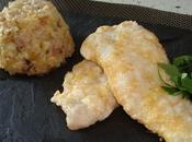 Pastelitos patatas merluza rebozada