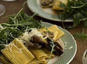 Rigatoni carbonara vegetariana