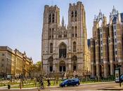 Catedral Bruselas Muestra Única Arquitectura Gótica
