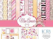 "Scrapbooking; Layout ""Mon Amour"" Kora Projects"