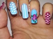 Diseño uñas romántico para Valentín
