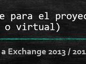 Hardware para proyecto migración Exchange (físico virtual)