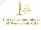 Nominados premios india catalina 2018