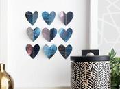 DIY: Cuadro corazones para Valentín