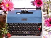 Maquina escribir para decorar boda vintage.