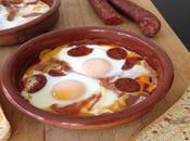 Recetas Contrarreloj: Huevos Plato Chorizo