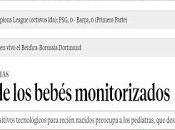 bebés monitorizados. periodista Mayte Rius