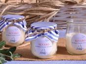 Detalles para comunión marinera, velas aromáticas artesanales.