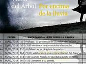 """Lectura programada """"Por encima lluvia"""" Víctor Árbol"""