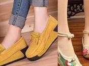 Tipos calzado cada momento trabajo)