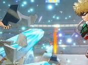 Hero Academia Game Project presenta tres nuevos personajes