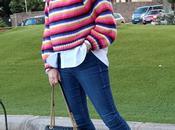 Zara colorful stripes