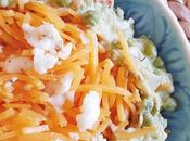 Noodles zapallo salsa palta palmitos