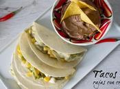 Tacos rajas crema