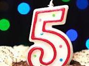 Cinco años KindleGarten