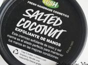 Salted Coconut exfoliante manos Lush