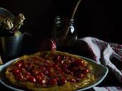 Tarta tatin tomates cherrys
