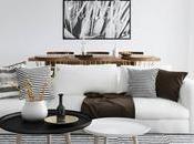 Decora casa estilo nórdico retro vintage moverte sofá