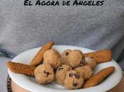 Bolitas galletas pepitas chocolate