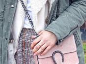 Look falda tweed