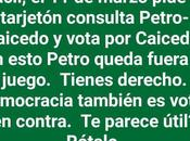 Sobre Época Electoral Colombia: difícil Colombia siga pasos Venezuela pero para mayor seguridad mejor votar candidatos derecha