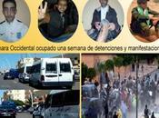 Sahara Occidental ocupado: semana detenciones manifestaciones