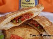 Paniempanados verduras salsa soja