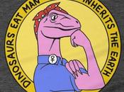 Dinosaurs Man, Woman Inherits Earth
