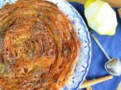 Ruffle milk pastel griego tarta masa filo