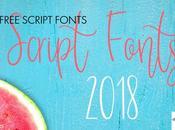 Nuevas Tipografías Script Gratis 2018