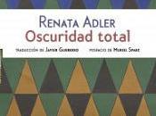 Renata Adler: escribir marear alguien (dos citas)