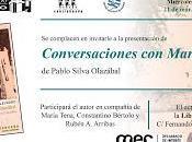 """Presentación """"Conversaciones Mario Levrero"""" Pablo Silva Olazábal"""