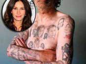 tatuó veces Julia Roberts