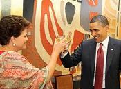 Barack Obama está Brasil