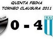 Colón: Racing Club: Fecha)