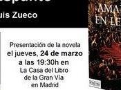 """Este jueves, 19:30 presentación novela """"Rojo Amanecer Lepanto"""" Casa Libro Gran Vía."""